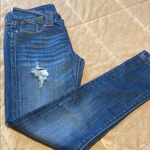Vigoss Studio The Thompson Straight Cuffed Jeans